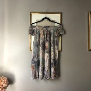 Aritzia Talula Horatio Off-the-Shoulder Dress XS